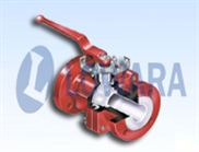 進口襯氟球閥,進口襯氟法蘭球閥,進口襯氟對夾球閥(美國羅瓦拉LOWARA)
