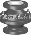 進口襯四氟止回閥;上海進口全襯氟止回閥;德國RBT襯氟止回閥