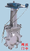 PZ973H-电动刀型闸阀