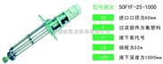 FYF氟塑料合金液下泵