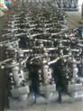 J11H锻钢内螺纹截止阀、锻钢螺纹截止阀、锻钢截止阀