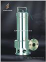 不锈钢切割式潜水排污泵 不锈钢耐高温耐酸碱潜水泵、 耐腐蚀耐高温潜水泵