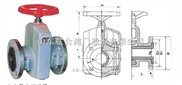 GJ41X-6L管夹阀,管夹阀