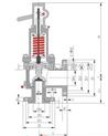 MWA44C美標波紋管安全閥