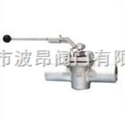 进口焊接式旋塞阀 德国RBT对焊式旋塞阀