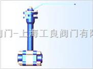 三段式承插焊高压低温锻钢球阀