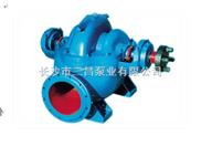 卧式中开离心泵,中开式双吸泵,双吸式离心泵,单级双吸离心泵